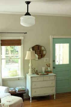 "door color ""aquaduct"" by sherwin williams"