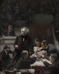 Philadelphia Museum of Art - Collections Object : Portrait of Dr. Samuel D. Gross (The Gross Clinic) by Thomas Eakins (Jointly owned by Philadelphia Museum of Art and The Pennsylvania Academy of the Fine Arts, Philadelphia, PA, USA)