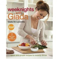 Weeknights with Giada available at the Food Network Store