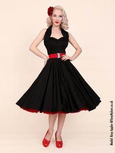 1950s Halterneck Dress