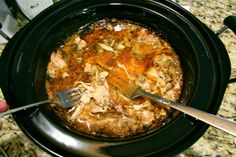 rotisserie-esque slow cooked chicken