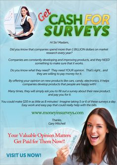 I'll keep this short because I know you're probably busy.  There is this new website out that has proof of how a single,  in debt dad, turned his life around and is now making good money  by simply taking short online surveys that ask his opinion on products.