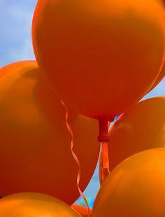 oranje balonnen