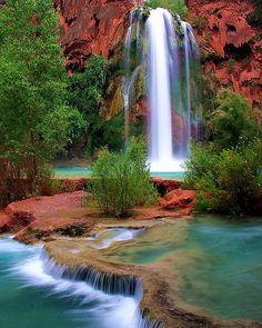 Havasu Falls, the Grand Canyon, Arizona --Photo by Brian Knott