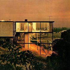 Smith House, Crestwood Hills, Los Angeles, California, 1958 — Craig Ellwood
