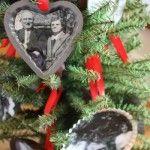 family trees, christma stuff, tree diy, famili tree, christma idea, families, christma ornament, diy christmas ornaments