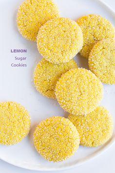 Chewy Lemon Sugar Cookies - Cooking Classy