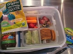 This mom took pictures of her sons school lunches everyday for over 100 days. Free ideas for mommies everywhere!