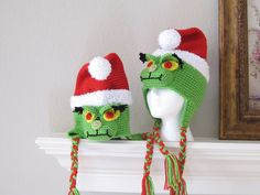 Bah Humbug Christmas Grinch Hat