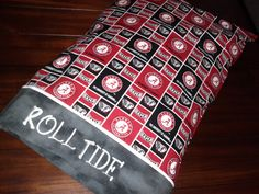 Personalized UNIVERSITY OF ALABAMA Pillowcase  by debbierofstad, $18.00  #NCAA #CollegeFootball  For Great Sports Stories, Funny Audio Podcasts, and Football Rules Tutorial www.RollTideWarEagle.com