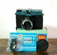 Vintage DianaF 120mm Film Camera with Box by CanemahStudios, $35.00