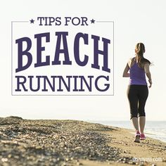 Beach running rocks!  Here are some awesome Tips for Beach Running that have helped me a lot.  #beachrunning #running #workout #fitness running on a beach, beach running, train