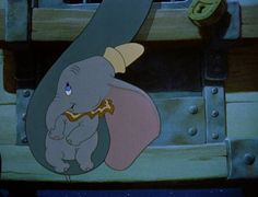 """Rest your head, close to my heart, never to part, baby of mine."" – Dumbo"