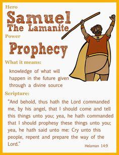 Samuel the Lamanite scriptur hero