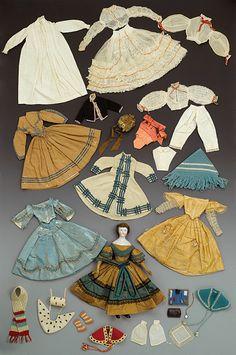 Civil War Era Doll -...