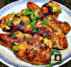 Sticky sweet Chinese chicken wings Be sure to make more than you need! These always go fast. A great side or main for a family dinner or party, buffet etc. You can also use the marinade and make great ribs. Perfect! #chinesefood #Chicken #Sweet #Grill #bbq #oven
