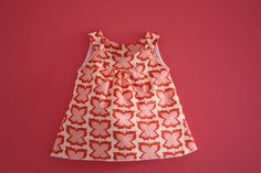 Snappy toddler dress, pattern + tutorial.  This one's by Raechel Myers