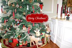 holiday, home tours, merri christma, homes