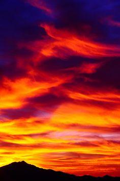 Beautiful sunsets of Arizona.