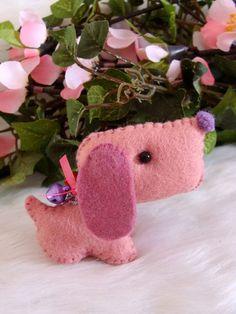 SALE.....Candy an adorable handmade felt by LoveableTreasures, $12.00