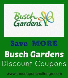 Busch Gardens Discount Coupons