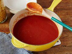 Tomato Sauce Recipe : Alton Brown : Food Network - FoodNetwork.com
