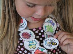 Family Fun: Rosh Hashanah Coloring Sheet & Necklace