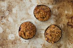 Raspberry Coconut Carrot Cake Muffins – Gluten Free & No Added Sugars via @nourishrds