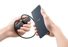 Sony's new wearable player also doubles as a Bluetooth headset. | #Walkman #IFA2014 #Sony #Bluetooth #audio #headset