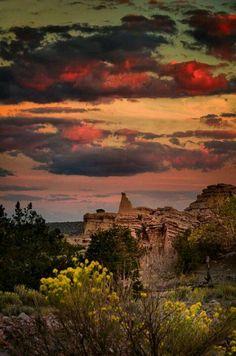 sky, mexico, sunsets, southwest, beauti, travel, places, white place, enchant