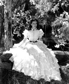 Vivien Leigh as Scarlett O'Hara - what a character