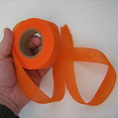 """Biodegradable Trail Marking Tape """"This trail marking tape is completely non-toxic to humans, animals and the environment. It is readily decomposed by bacterial action alone or in conjunction with ultraviolet rays, moisture and abrasion caused by wind. Complete degradation of this biodegradable ribbon will occur outdoors in six to twenty-four months depending on the climate and environmental conditions."""""""
