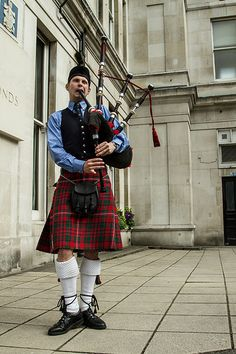 Bagpipe playing