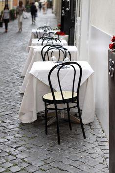Street Side Rome Restaurant