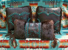 turquoise western decor - Google Search