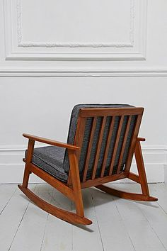 Mid Century Rocking Chair in Timber