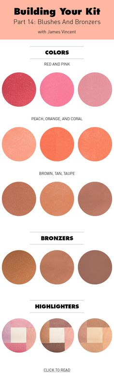 How To Pick Blushes And Bronzers