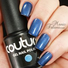 Couture After Midnight #Gelpolish #Soakoffgel #CoutureGelPolish