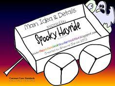 Classroom Freebies: Spooky Hayride - Main Idea