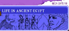 Life in Ancient Egypt: Activities, information, a quiz and more, as well as worksheets, an image bank, weblinks and faqs for teachers.