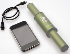 nPower® PEG  (Personal Energy Generator) : Recharge your hand-held electronic devices with the kinetic energy you generate while moving around! via crispgreen http://www.npowerpeg.com/ #npowerpeg #Battery_Charger