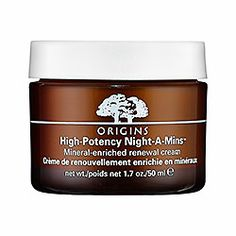 Daily Routine: Origins - High Potency Night-A-Mins™ Mineral-Enriched Renewal Cream  My good pal, Lauren, turned me on to this stuff. So amazing. It's like a shot of fuck yeah for your skin.