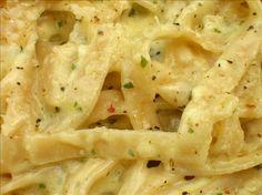 Improved Olive Garden Alfredo Pasta