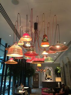 Lights at the Ham Yard Hotel