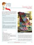 Entrelac Scarf - free pattern download