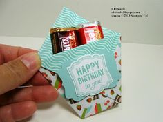 Candy Pockets ~ more pics and ALL the directions on my #CLOcards blog!