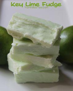 2 Ingredient Key Lime Fudge Recipe!