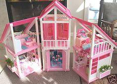 Barbie Dream house I sooo had this