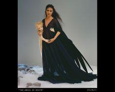 Lisa Lichtenfels - Angel of Death - cloth dolls