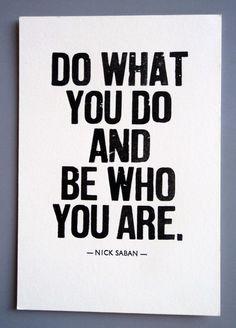 Nick Saban quote.